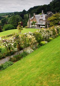 Hotel Endsleigh.  Dartmoor, England