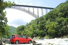 You never know what adventures life may take you on, but you should always enjoy the ride. Take your Honda Fit on a road trip and beautiful rivers and bridges are just some of the views you will see.  Photo Credit: Wesley Grim