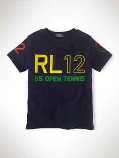 US Open Graphic Tee - Boys 2-7 T-Shirts & Sweatshirts - RalphLauren.com