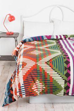 Magical Thinking Bracelet Stripe Duvet Cover  #UrbanOutfitters