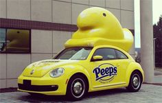 Our Annual Peeps Post! Peep Movies, Peep Experiments and Peep Mobiles!