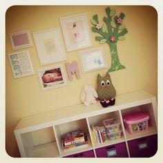 Sweet nursery wall