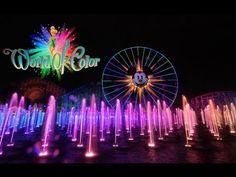 Disney's World of Color California Adventure 2013- 1080P HD Panasonic Lumix GH3 - YouTube
