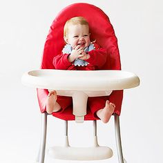 Scary stat: One child has a high chair-related injury each and every hour. See how to make your kitchen a safer space.
