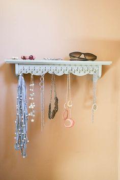 DIY Necklace Holder | Someday I'll Learn