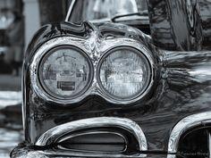 """1958 Chevrolet Corvette"" by Francisco Herrera, via 500px."