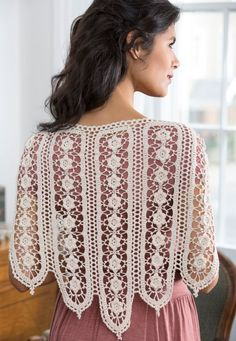 Wild Rose Shawl Free Crochet Pattern... wow