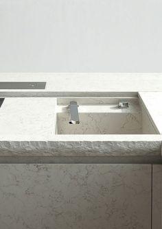 Beautifully finished bathroom vanity & basin