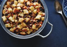 Bread Stuffing with Tempeh Bacon | Vegetarian Times