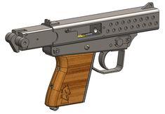 Homemade pistol cad plans