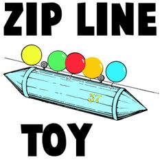 Engineer a mini zip line!