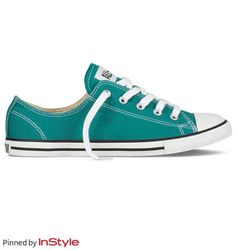 Chucks in teal...perfect for my closet...and feet.