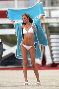 Victoria's Secret supermodel Candice Swanepoel has made a career out of wearing bikinis and for good reason.