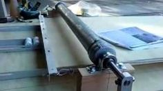 A home-made clay slab roller from old Wettlaufer plans, via YouTube.