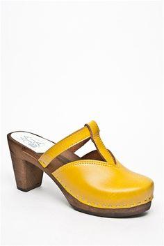 Maguba - Nice High Heel Clog - Yellow Brown