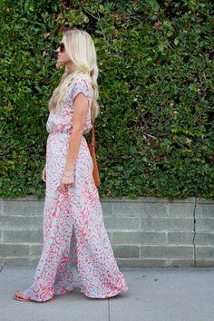 Elle Apparel: PATTERN PLAY // SIDE SLIT MAXI DRESS TUTORIAL
