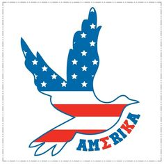 Be American. Go Sigma Kappa.