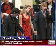This made me laugh. Rupert always getting picked on