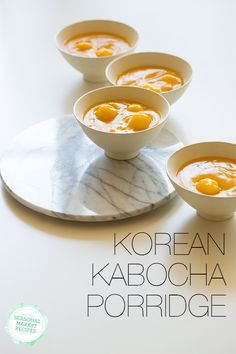 Korean Karocha porridge