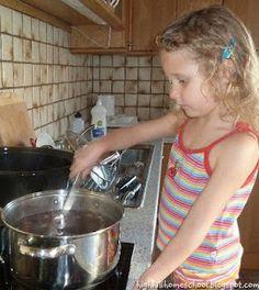 Highhill Homeschool: Bean Soup