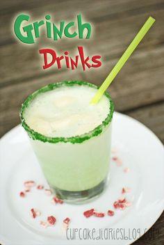 Grinch Drinks | cupcakediariesblog.com