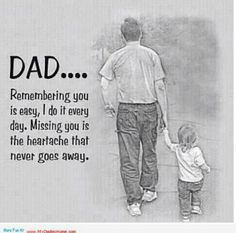Loss of one's father........