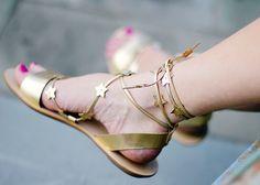 Loeffler Randall star sandals