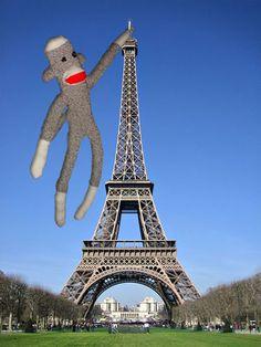 Sock monkey King Kong