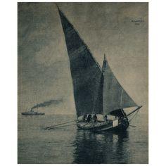 Hans Watzek (1848–1903) vintage multiple gum print