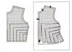 Adjusting pattern to increase waist size