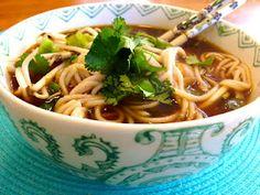 Thai Noodle Soup (vegan)