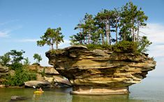 """""""Turnip Rock"""" *Port Austin, Michigan* 