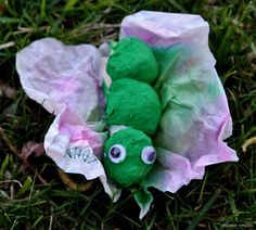 Very cute caterpillar to butterfly craft for kids!