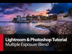 ▶ Lightroom & Photoshop Tutorial: Multiple Exposure Blend - PLP # 58 by Serge Ramelli - YouTube
