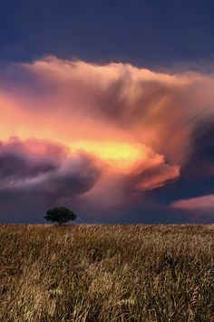 beautiful nature - storm approaching