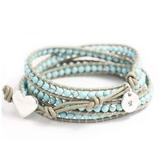 $48 Leather wrap bracelet
