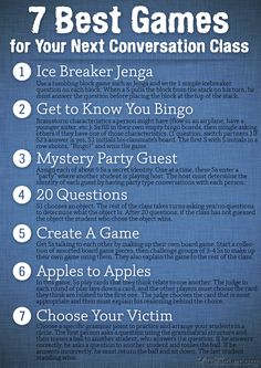 games to get conversation started