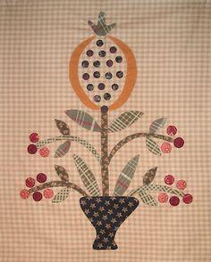 patek quilt, jan patek, linda brannock, appliqu, flower