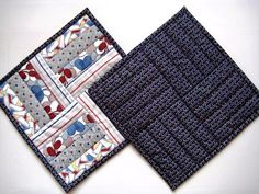 Quilted Mug Rugs Snack Mats