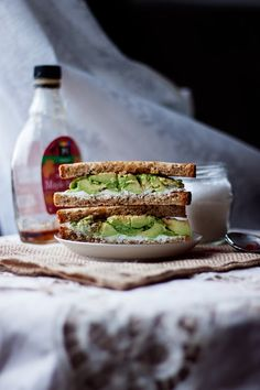 Sweet & Spicy Avocado Chèvre Sandwich | Will Frolic For Food