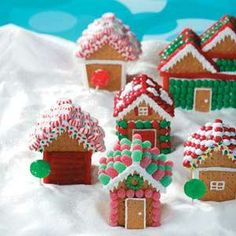 Christmas Village Houses Recipe from Taste of Home