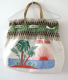 Bolso Souvenir Costa Brava. Años 70 http://myworld.ebay.es/olgacintora/