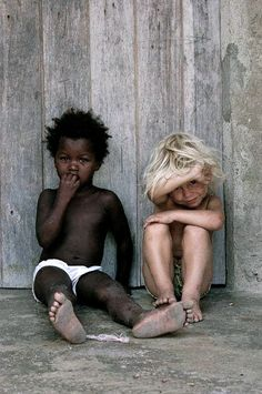 little children, color, little ones, south africa, white, friendship, beauti, black, kid