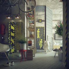 Loft Style by Maxim Zhukov