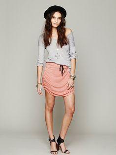 RAILS Lily Mini Ruched Skirt