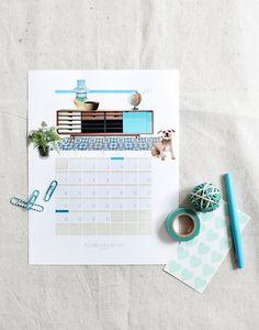 Calendario Personalizable de Design Love Fest