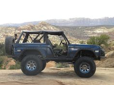 The more open space on an Early Bronco the better.  Get that wind blowing in your face out in the country.  Bronco lifer.