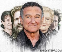 10 Fantastic Artists Pay Tribute to Robin Williams