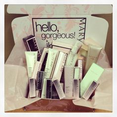 So awesome! Who wouldn't want to get a box like this in the mail...www.marykay.com/rcarson4
