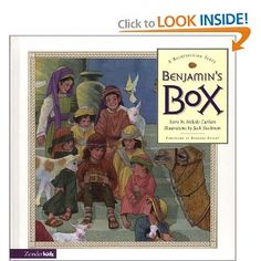 What are the treasures in Benjamin's Box? Come along with Benjamin and see... Like all boys and girls, Benjamin is very, very curious. Unlike children of today, however, Benjamin lives during the days of Christ! When Jesus comes to Jerusalem, Benjamin decides to follow Him and find out who He really is. At first, he thinks Jesus is a teacher, then a king. At last, Benjamin learns the good news -- news that every child (and grown-up!) will want to share.